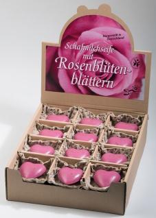 """Schafsmilchseife """" Herz pink """""""