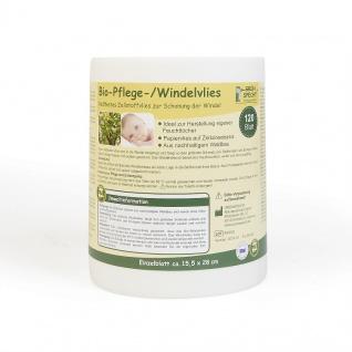Bio-Pflege-/Windelvlies, 120 Blatt (15, 5 x 28 cm) auf Rolle