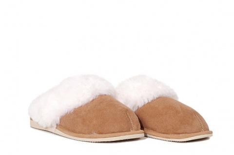 Damen-Pantoffeln mit fester Sohle