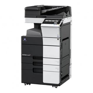 Konica Minolta bizhub C558 gebrauchter Kopierer mit PC-415 Großraummagazin