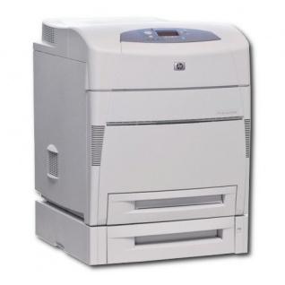 HP Color LaserJet 5550DTN, generalüberholter Farblaserdrucker, unter 100.000 Blatt gedruckt