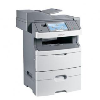 Lexmark X466dte, generalüberholtes Multifunktionsgerät, unter 100.000 Blatt gedruckt