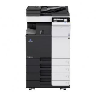 Konica Minolta bizhub C258, generalüberholter Kopierer 69.723 Blatt gedruckt mit PC-210, DF-704, FS-533, UK-211 i-Option-Kit, LK-105 OCR Text-Erkennung