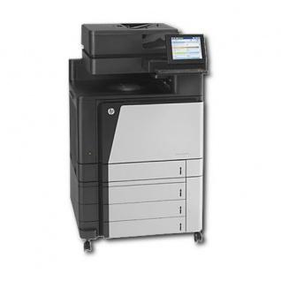 HP Color LaserJet Enterprise Flow M880z mfp 395.968 Blatt gedruckt generalüberholter Kopierer Toner Sw NEU, Trommel C, M NEU