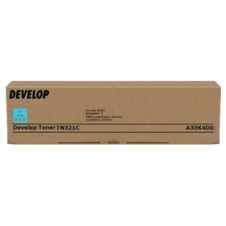Original Toner Develop A33K4D0 / TN-321C Cyan für ineo +224 / +284 / +364