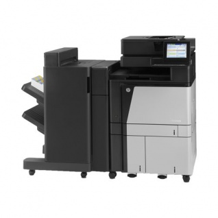 HP Color LaserJet Enterprise Flow MFP M880z+ NFC/WL, generalüberholter Kopierer mit Finisher
