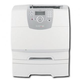 Lexmark T642TN, generalüberholter Laserdrucker, unter 100.000 Blatt gedruckt