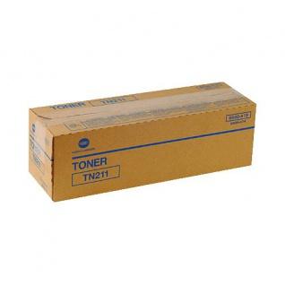 Original Toner Konica Minolta TN211/ 8938-415 Black für Konica Minolta bizhub 200 / 222 / 250 / 282