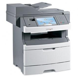 Lexmark X466de, generalüberholtes Multifunktionsgerät, unter 100.000 Blatt gedruckt - Vorschau
