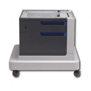 HP CC422A Papierfach, 500 Blatt Kapazität mit Unterschrank gebrauchtes Papierfach