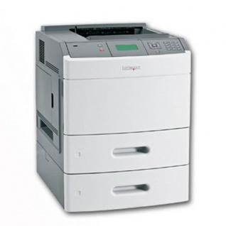 Lexmark T652TN, generalüberholter Laserdrucker, unter 100.000 Seiten gedruckt