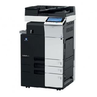 Konica Minolta bizhub C224 nur 79.359 Blatt gedruckt mit PC-410 und FS-533 Finisher, gebrauchter Kopierer