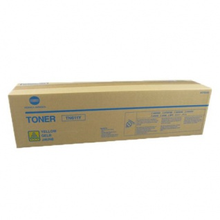 Original Toner A070250 / TN611Y Gelb für Konica Minolta bizhub C451 / C550 / 650