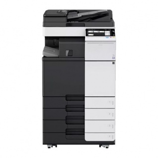 Develop Ineo +284e, gebrauchter Kopierer 267.494 Blatt gedruckt mit 4.PF, DF-624, FS-533