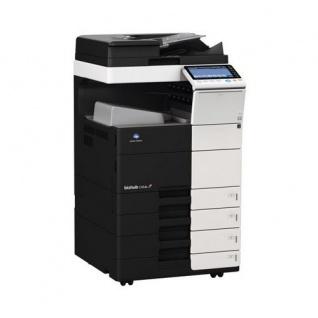 Konica Minolta bizhub C554e gebrauchter Kopierer 37.530 Blatt gedruckt mit 4.PF, DF-701