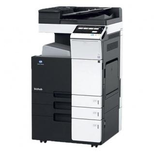 Konica Minolta bizhub C224 gebrauchter Kopierer 83.856 Blatt gedruckt mit 4.PF, Fax