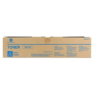 Original Toner Konica Minolta A0D7452 / TN213C Cyan für Konica Minolta bizhub C203 / C253