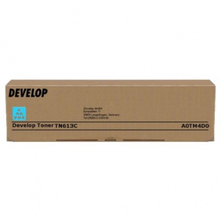 Original Toner Develop A0TM4D0 / TN613C Cyan für ineo +452 /+552 / +652 / +652 DS