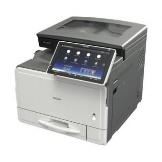 Ricoh MP C306zsp, gebrauchter Multifunktionsdrucker 2.691 Blatt gedruckt WLAN Bluetooth