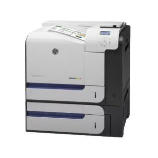 HP Color LaserJet Enterprise M551x, generalüberholter Farblaserdrucker 181.027 Blatt gedruckt Sw und Cyan Toner NEU