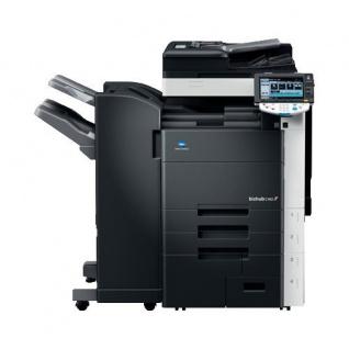 Konica Minolta bizhub C452 205.769 Blatt gedruckt gebrauchter Kopierer mit Finisher FS-527