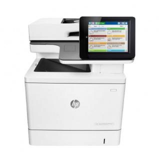 HP Color LaserJet Enterprise M577f MFP 338.644 Blatt gedruckt generalüberholtes Multifunktionsgerät Toner Cyan NEU