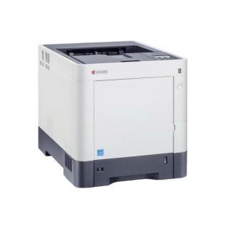 Kyocera ECOSYS P6130cdn, generalüberholter Farblaserdrucker 30.368 Blatt gedruckt Duplex LAN