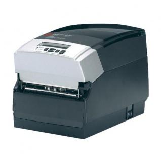 TallyGenicom 7006 TT4 300dpi gebrauchter Etikettendrucker nur 4.040 m gedruckt