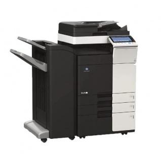 Konica Minolta bizhub C308 gebrauchter Kopierer 139.513 Blatt gedruckt mit 2.PF, PC-410, DF-629, FS-536, Fax, Fuser NEU