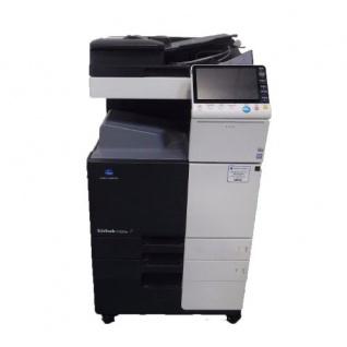 Konica Minolta bizhub C224 gebrauchter Kopierer 1.645 Blatt gedruckt mit PC-410, DF-624