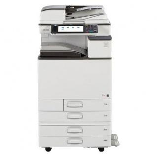Ricoh Aficio MP C3003 gebrauchter Kopierer 415.022 Blatt gedruckt mit 4.PF TONER C, M u. G NEU