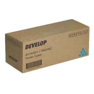 Original Toner Develop A11G4D1 / TN216C Cyan für ineo +220 / +280