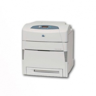 HP Color LaserJet 5550 generalüberholter Farblaserdrucker, unter 100.000 Blatt gedruckt