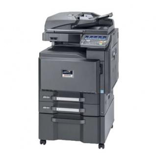 Kyocera Taskalfa 3501i, generalüberholter Kopierer mit Faxkarte, mit Unterschrank