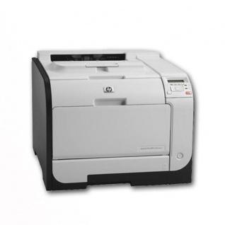 HP Color LaserJet Pro 400 M451dn unter 100.000 Blatt gedruckt, generalüberholter Farblaserdrucker