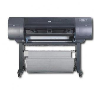 HP DesignJet 4020PS, gebrauchter Plotter, nur 318m² gedruckt, mit neuen Druckköpfen