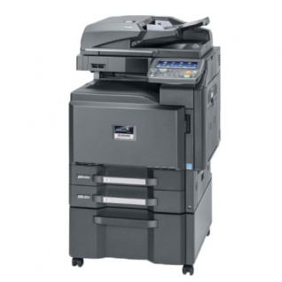 Kyocera TASKalfa 2550ci generalüberholter Kopierer 81.564 Blatt gedruckt mit 2 PF u. Unterschrank