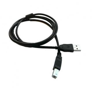 USB Kabel; 1 Stück; neu; schwarz; 1, 50 m; USB 2.0; A/B; Highspeed; geschirmt