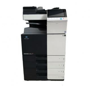 Konica Minolta bizhub C284e gebrauchter Kopierer 526.407 Blatt gedruckt mit PC-210 und JS-506