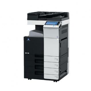 Konica Minolta bizhub C284 gebrauchter Kopierer 111.957 Blatt gedruckt mit 4 PF, DF-701 Dualscanner