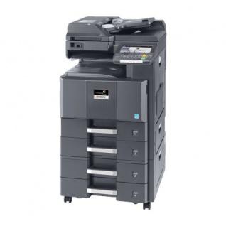Kyocera TASKalfa 2550ci generalüberholter Kopierer 355.470 Blatt gedruckt mit 2 PF u. PF-790