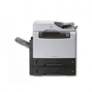 HP LaserJet M4345 MFP + 2 Papierfach, generalüberholtes Multifunktionsgerät, unter 100.000 Blatt gedruckt
