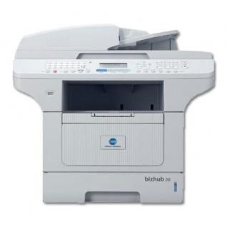 Konica Minolta bizhub 20 MFP, nur 38.673 Blatt gedruckt gebrauchtes Multifunktionsgerät baugleich Brother DCP-8085DN TROMMEL NEU
