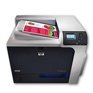 HP Color LaserJet CP4525N generalüberholter Farblaserdrucker, unter 100.000 Blatt gedruckt
