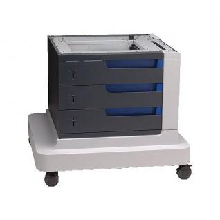 HP CC423A 1.500 Blatt Kapazität gebrauchtes Papierfach auf Rollen für Color LaserJet CM4540MFP / CP4525