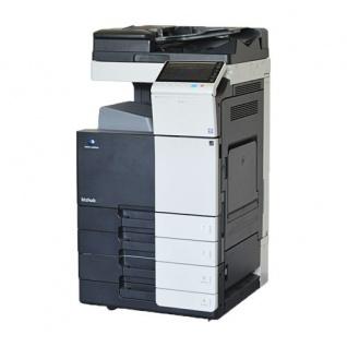 Konica Minolta bizhub 554e, generalüberholter Kopierer mit Faxkarte mit PC-210