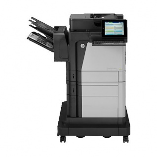 HP LaserJet Enterprise Flow MFP M630f, generalüberholtes Multifunktionsgerät 738.551 Blatt gedruckt mit Finisher Toner NEU
