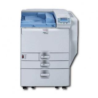 Ricoh SP C820DN mit 2.PF u. Unterschrank, generalüberholter Farblaserdrucker - Vorschau
