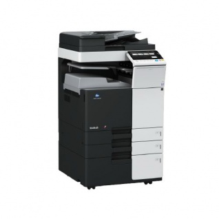 Konica Minolta bizhub C284 252.871 Blatt gedruckt mit 2.PF u. Unterschrank Fax gebrauchter Kopierer, Toner M u. G. NEU
