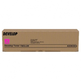 Original Toner Develop A33K3D2 / TN512M Magenta für ineo +454